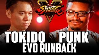 SFV ► TOKIDO vs PUNK - EVO 2018 RUNBACK