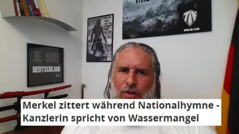 Tim Kellner: SCHRECKLICH! MERKEL kollabiert bei Nationalhymne!