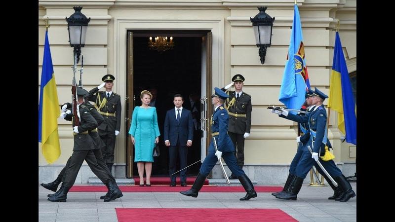 🔴 Зустріч президентів України та Словаччини з представниками ЗМІ - 1330