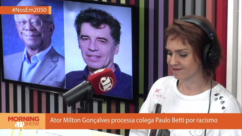 Ator Milton Gonçalves processa colega Paulo Betti por racismo