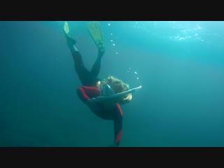 Freediving in sevastopol polina 7 years, august 2018, фридайвинг 7 лет 7 метров.
