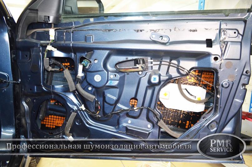 Шумоизоляция Nissan Almera, изображение №6