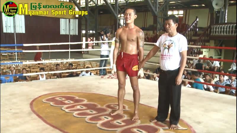 Бирманский бокс летвей Аццкий Локоть