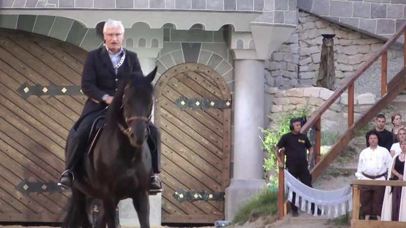 SKH Luitpold Prinz von Bayern bedankt sich Ritterturnier Kaltenberg