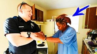 Женщина украла 5 яиц, но ее поймали! Но когда приехали полицейские, они сделали нечто невероятное!