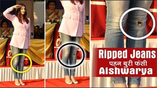 Aishwarya Rai Trolled Over Torn Jeans In School | Aishwarya Rai Bachchan