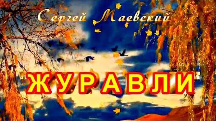 ЖУРАВЛИ есть такие друзья что пройдут стороной и никто не поможет подняться Сергей Маевский