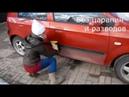Как быстро помыть машину 0,5 литрами воды Автополотенце Гринвей