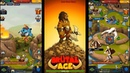 Brutal Age Horde Invasion EN First look Prehistoric strategy Android Strategy