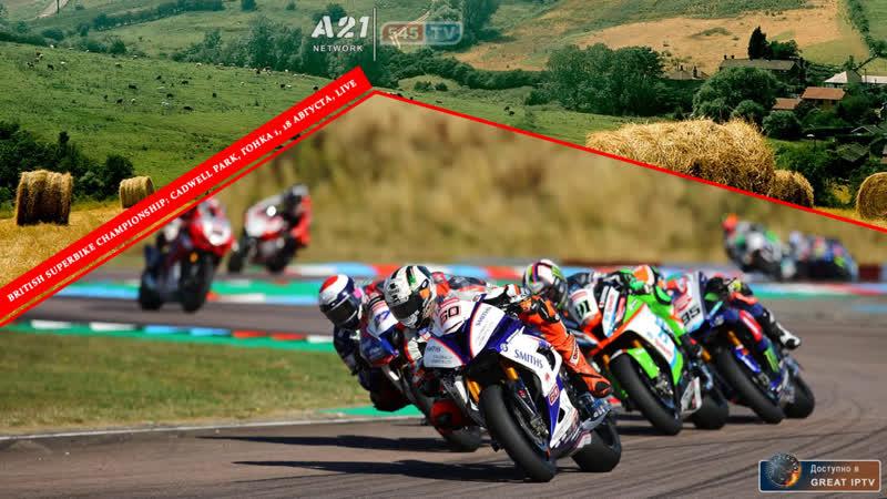 British Superbikes: Cadwell Park, Гонка 1, 18.08.2019 [545TV, A21 Network]