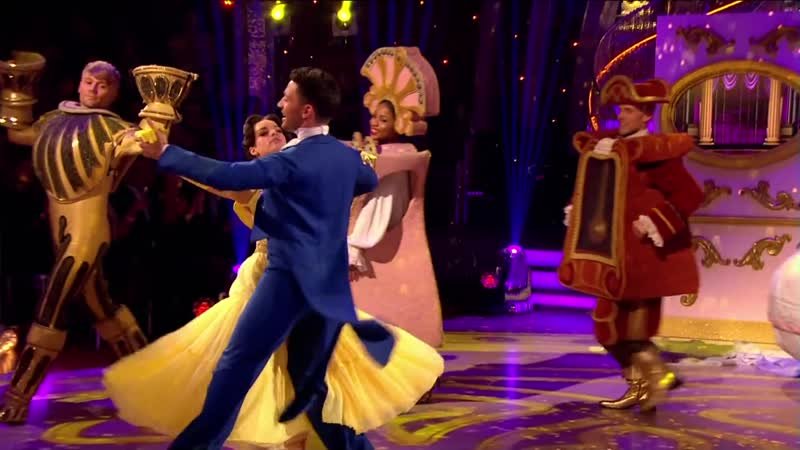 Georgia May Foote Giovanni Pernice Foxtrot to Beauty The Beast Strictly Come Dancing 2015