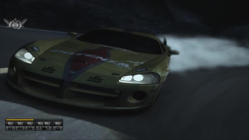 Ночной Тогэ на Godge Viper в игре Test Driver GRID
