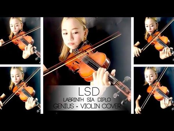 LSD - Genius ft. Sia, Diplo, Labrinth violin cover by Aciw Alexa