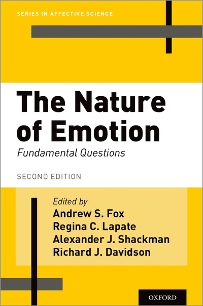 The Nature of Emotion Fundamental Questions, 2 edition