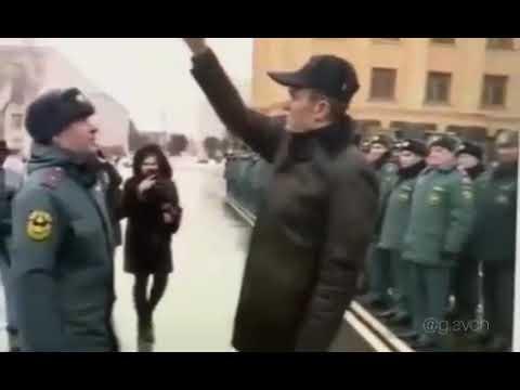Глава Чувашии в перерывах после мочилова дрессирует офицеров МЧС