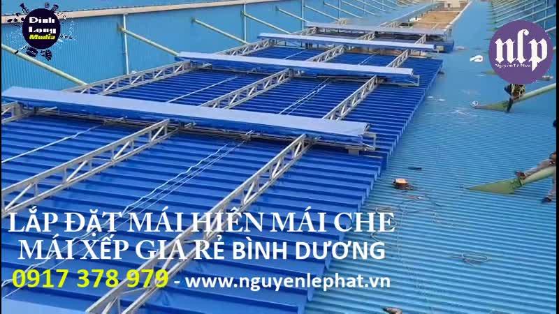 Lắp Đặt Mái Hiên Mái Che Mái Xếp Di Động Tại Dĩ An Thuận An Bình Dương, Bạt Kéo Mái Hiên Che Nắng
