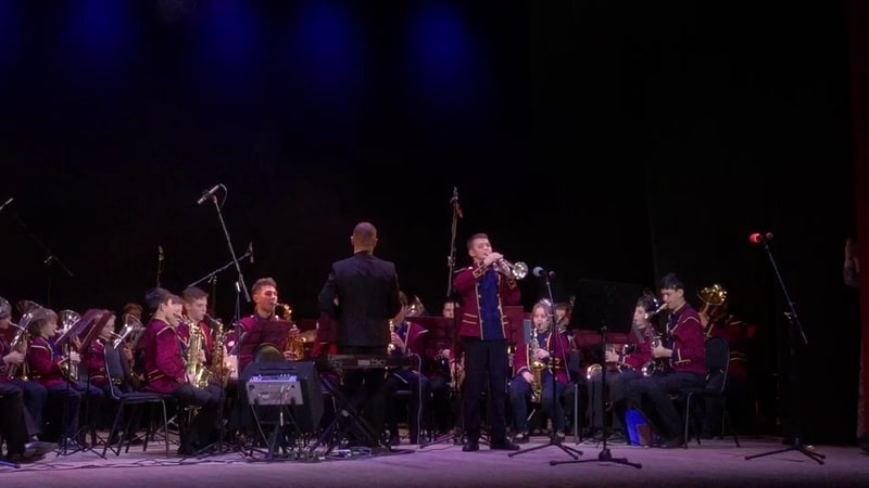 К. Молчанов «Вокализ» Исп. соло на трубе Шаин Константин