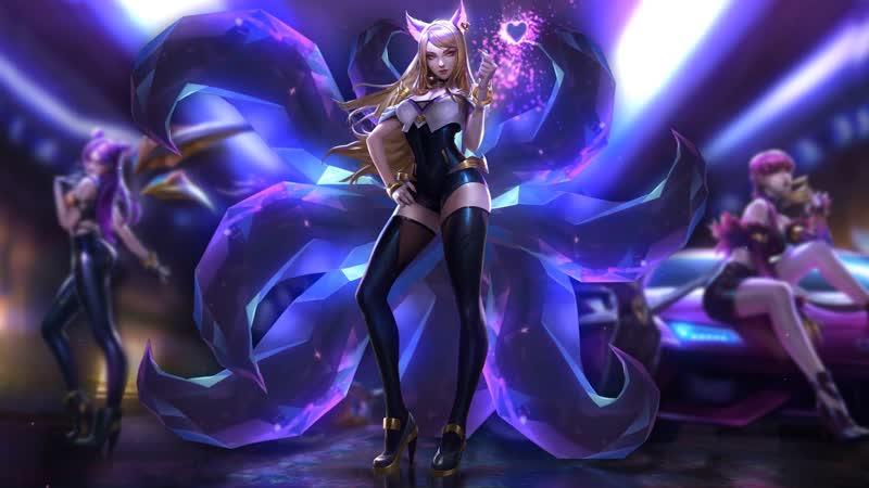 League of Legends - Kda Ahri Heart