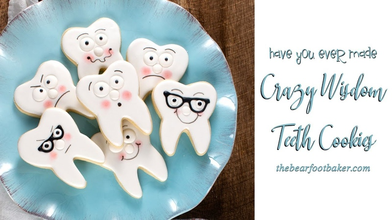 Have You Ever Made Crazy Wisdom Teeth Cookies | The Bearfoot Baker