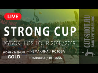 WOMEN MEDIUM GOLD - STRONG CUP