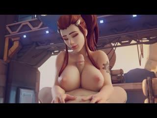 Brigitte[1](sound)overwatch 3d game hentai porn rule34 rule 34 порно хентай big