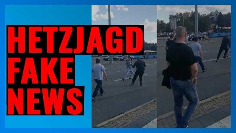 Hetzjagd in Chemnitz nun offiziell Fake News