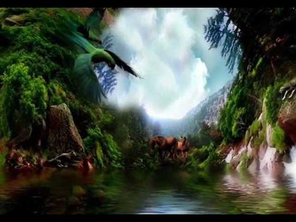 Картины Carol Cavalaris под музыку И.Штрауса.