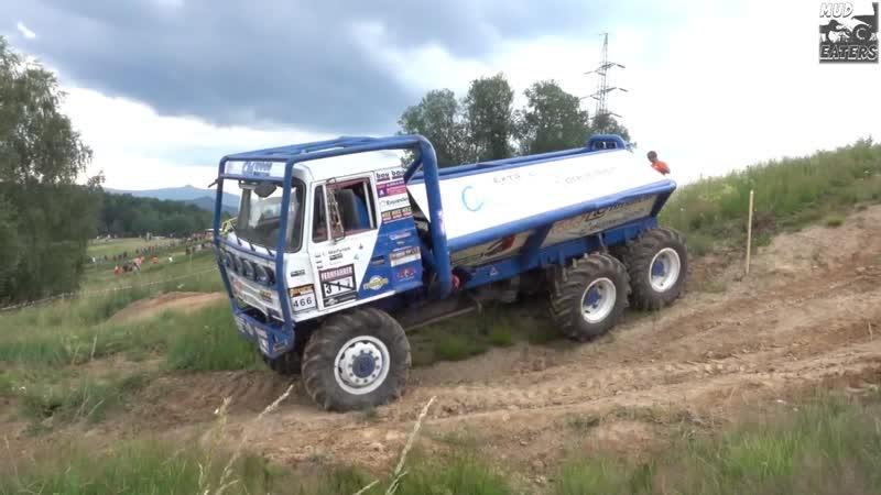 Truck trial Stráž pod Ralskem 2019 - 6x6 Tatra 815 - 466 Lukasz Martynek II