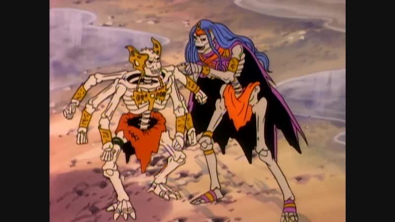 Воины-скелеты   Skeleton Warriors - Прошлое-прекрасно, будущее-неопределенно (8 Серия)