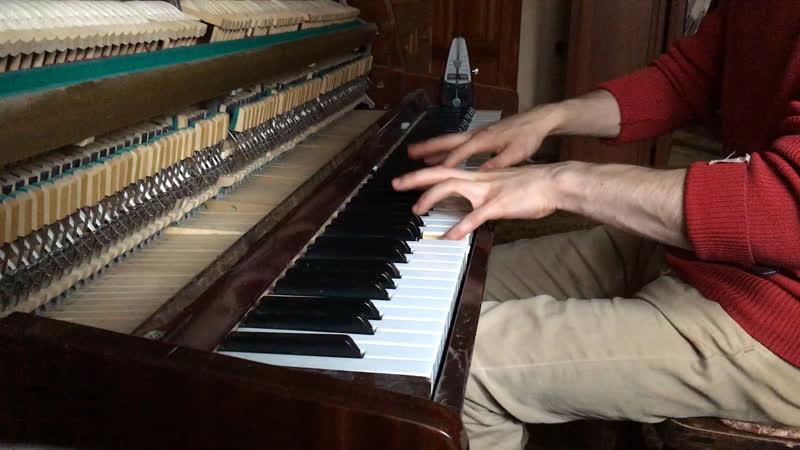 Prelude in C Minor BWV 847 No 2 Johann Sebastian Bach by Igor Saenko