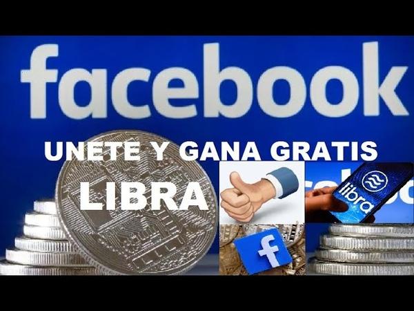 ►LIBRA UPLIBRA AIRDROP GRATIS FREE LIBRA FACEBOOK GRATIS LEVATE MONEDAS