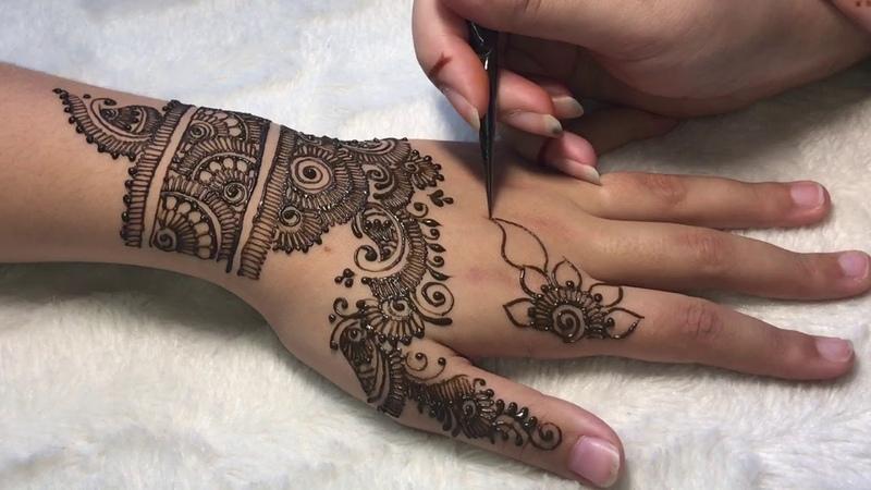Hénné mariée model fleuri n*2🌸