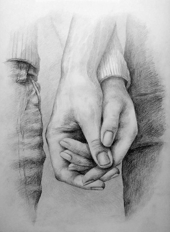 хотели видеть рисунок рука в руке карандашом фото годик мальчика покрыт