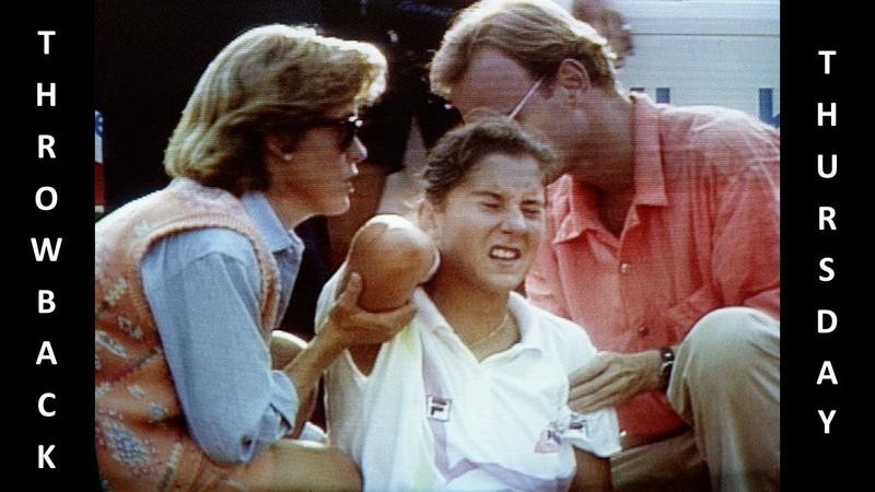 Throwback Thursday: Monica Seles - Hamburg 1993 (Stabbing incident)