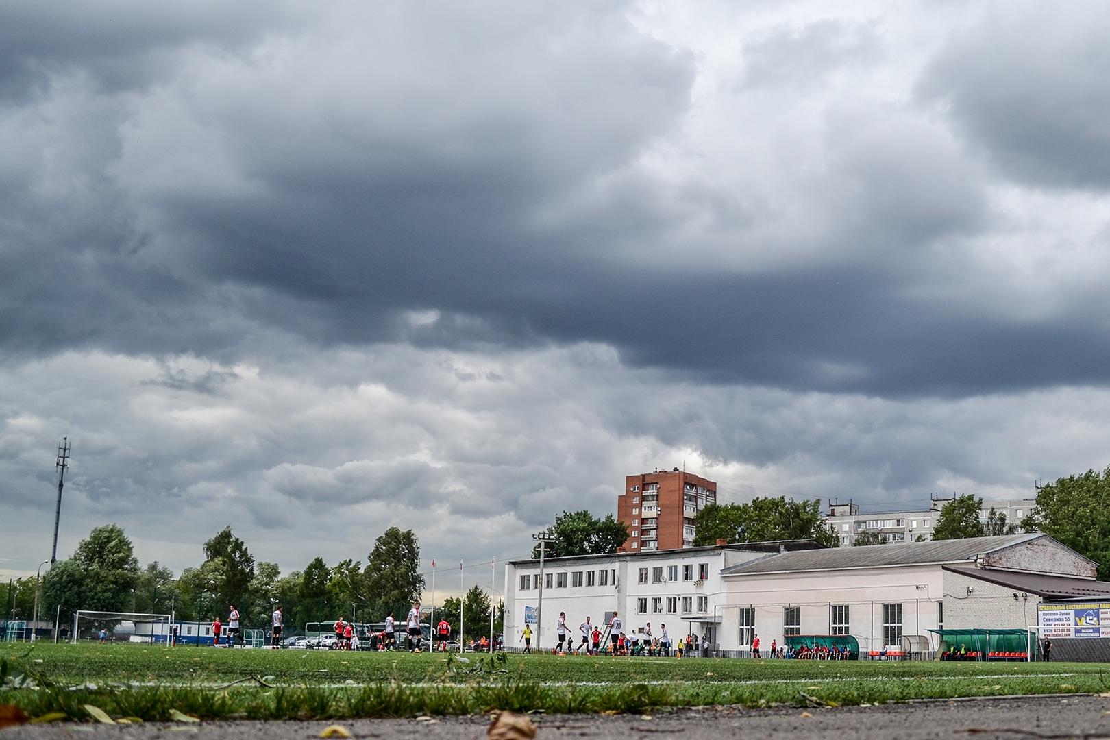 """Стадион """"Торпедо"""", Орехово-Зуево. Фото: Дмитрий Бурдонов / ФК """"Знамя Труда"""""""