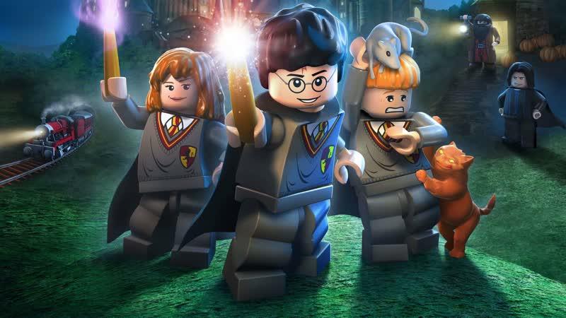 прохождение LEGO Harry Potter Years 1 4 часть 2