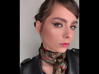 "модель ""Photomodel style"" для визажиста Kaneshka Sopova (backstage)"