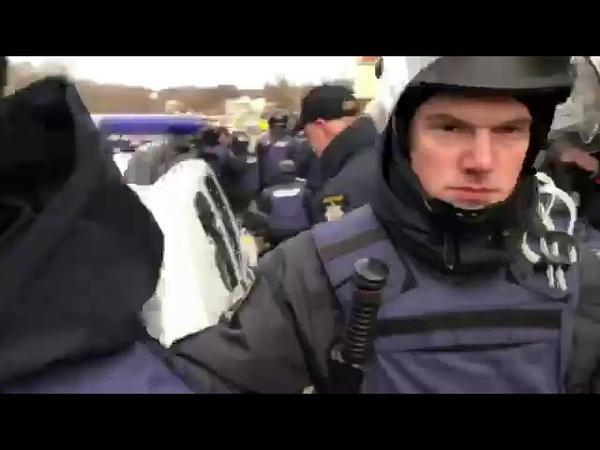 В Одессе полиция разогнала радикалов и активистов автомайдана