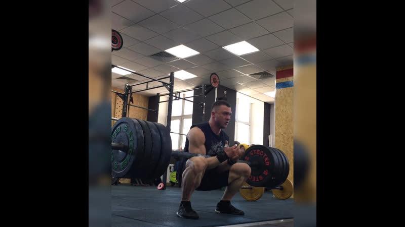 GoraCrossfit Подъем Зерхера Аксель 140 кг