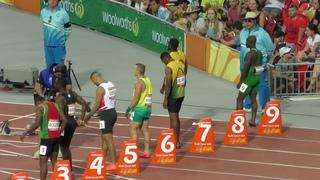 100m Semifinal 1 Yohan Blake  -0.3 Gold Coast 2018