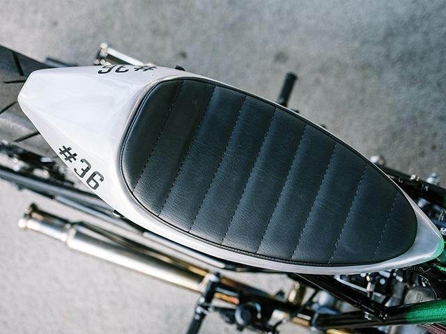 Schlachtwerk: кастом Kawasaki W800 Wasabi