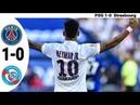 Neymar Jr - PSG vs Strasbourg 1-0 Highlights Goals   Resumen Goles 2019 HD