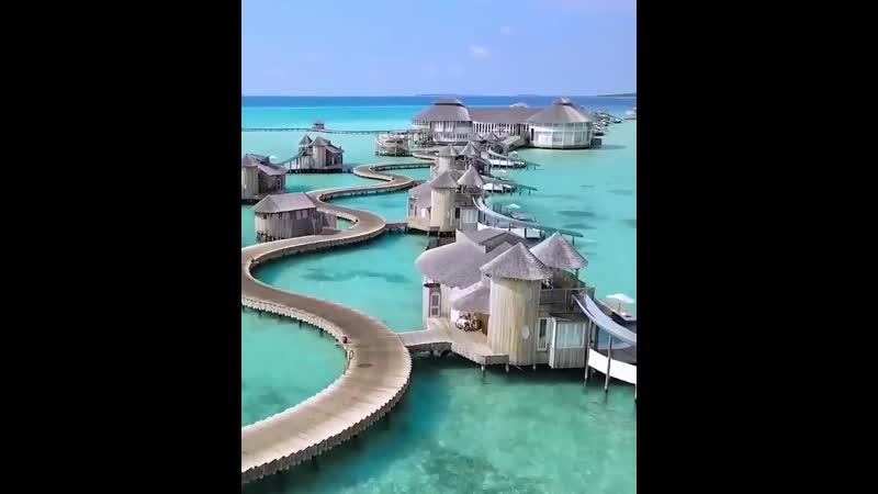 Прекрасные домики на Мальдивах Soneva Jani