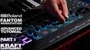 Roland Fantom Music Workstation Advanced Tutorial with Scott Tibbs Part I
