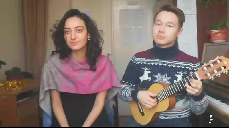 Снежинка Чародеи Аделина Хакимова и Евгений Изибаев