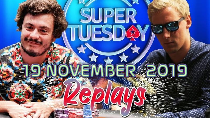 Super Tuesday ramastar88 | Graftekkel | Remi Lebo_10 November Replays 2019