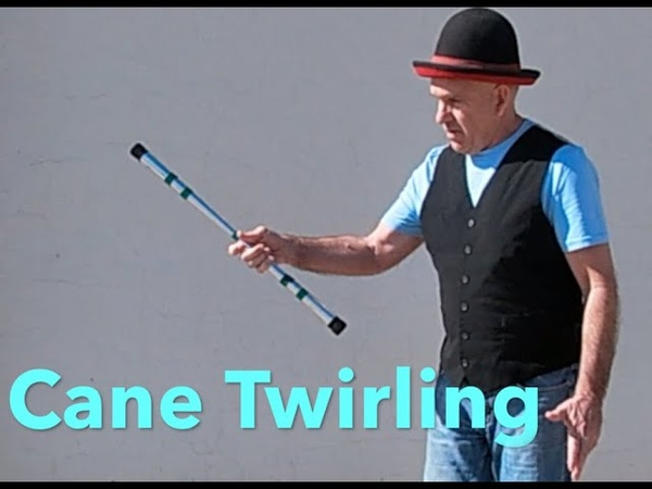 How to Twirl Spin And Flip a cane Flow tutorial