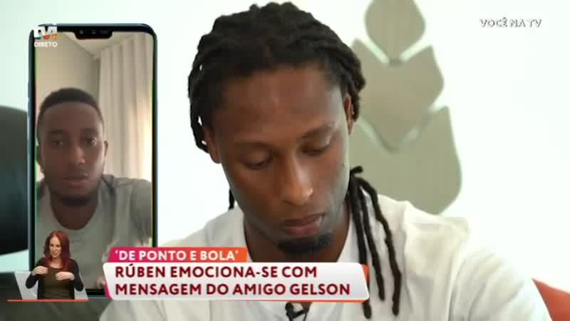 Rúben Semedo desaba em lágrimas com mensagem de Gelson Martins