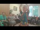 Отрывок храмового танца в исполнении Ирины Дрего