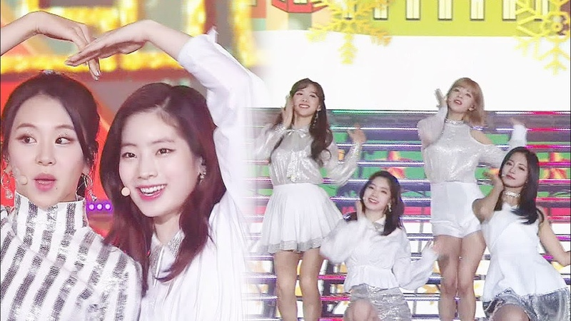 트와이스(TWICE), 소녀들의 당차고 발랄한 매력 어필(a charming stage) 'Heart Shaker' @2017 SBS 가요대전 2부 20171225